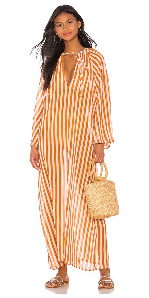 House of Harlow 1960 x revolve tigers eye maxi in camel stripe