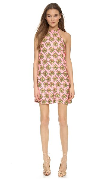 House Of Holland Short flower power dress in pink flower large - Description NOTE: Sizes listed are UK. Please see Size &...