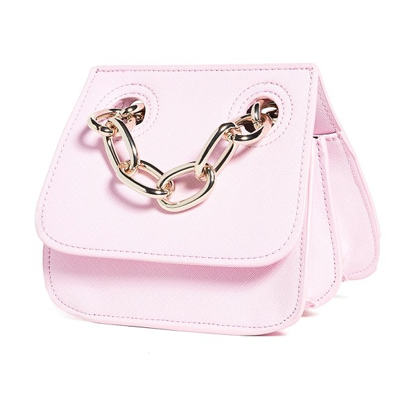 House of Want how we are original shoulder flap bag in pink