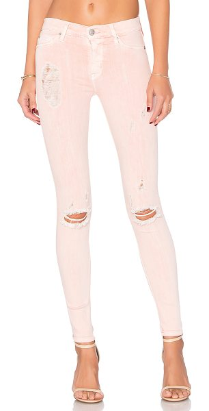 HUDSON Nico Super Skinny in pink - 43% viscose 33% cotton 17% lyocell 5% poly 2% elastane....