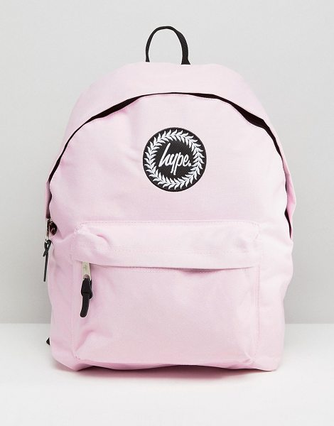 HYPE Badge Backpack - Backpack by Hype, Branded lining, Reinforced grab...