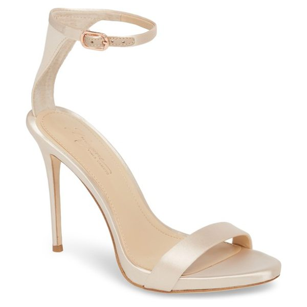 IMAGINE BY VINCE CAMUTO dacia sandal - A slim ankle strap heightens the contemporary...