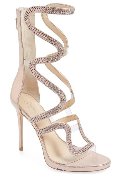 Imagine by Vince Camuto imagine vince camuto 'dash' cage sandal in rose gold