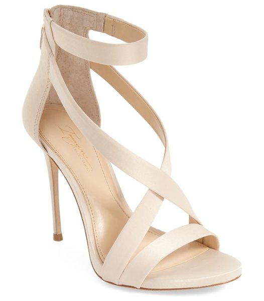 Imagine by Vince Camuto imagine vince camuto 'devin' sandal in light sand - An alluring strappy sandal is given a daring lift by an...