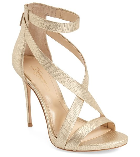 Imagine by Vince Camuto imagine vince camuto 'devin' sandal in soft gold leather