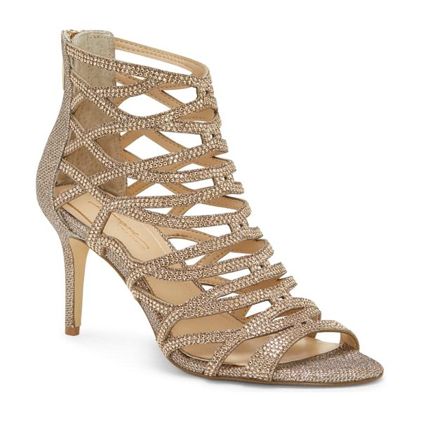 Imagine by Vince Camuto imagine vince camuto paven crystal cage sandal in metallic