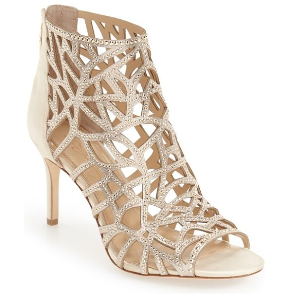 IMAGINE BY VINCE CAMUTO 'parker' studded cage sandal - Slender studded straps framing organic-shaped cutouts...