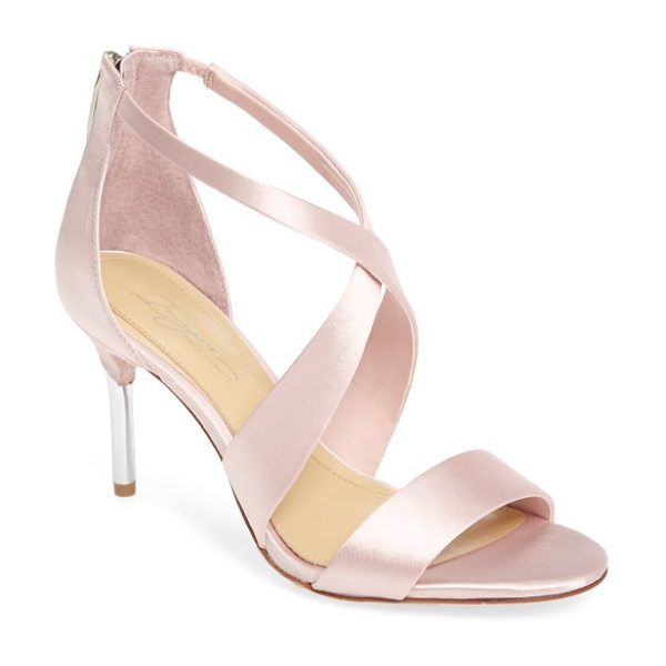 Imagine by Vince Camuto 'pascal' sandal in petal pink satin - Sleek satin straps crisscross atop an elegant evening...