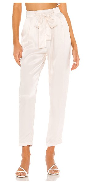 Indah agent tapered pocket trouser in opal