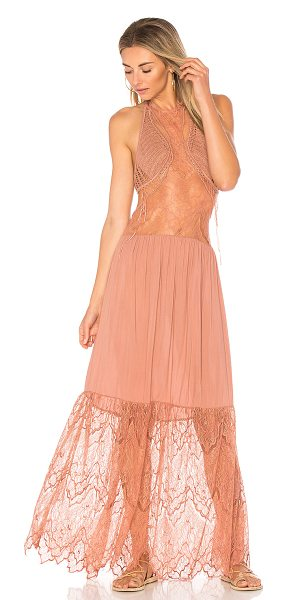 Indah Whisky Maxi Dress in dusty rose