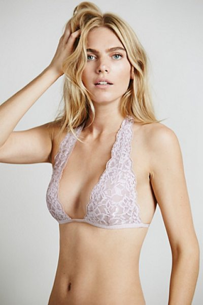 Intimately Truly madly deeply halter in mauve pink