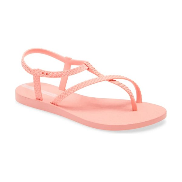 Ipanema aphrodite strappy waterproof sandal in pink