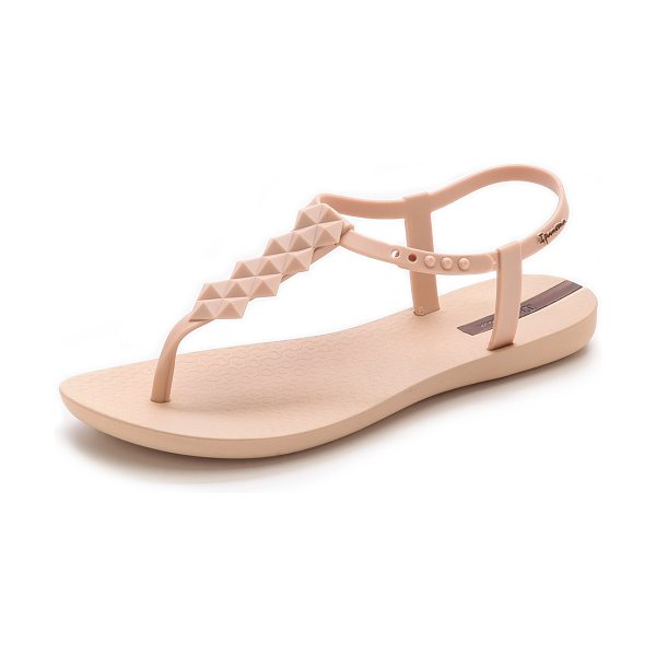 Ipanema Cleo sandals in beige/beige