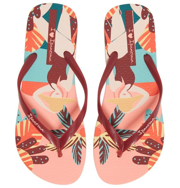 Ipanema i love sun flip flop in pink