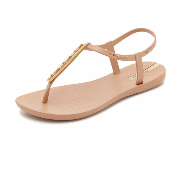 Ipanema pietra t strap sandals in brown/brown