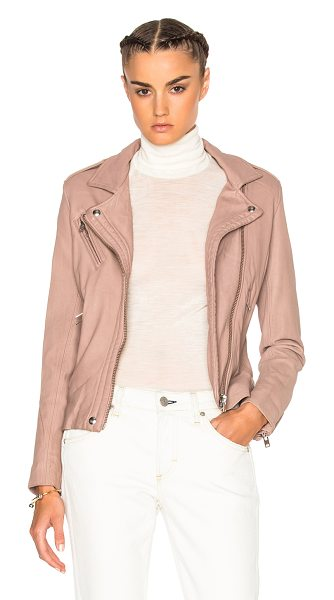 IRO Han Jacket - Self: 100% lambskin leather - Lining: 100% rayon -...