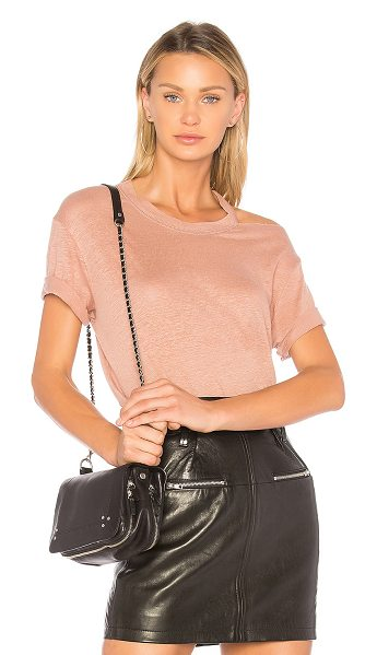 IRO Bacau Tee in pink - IRO supplies a basic that?s not so basic. The Bacau Tee...