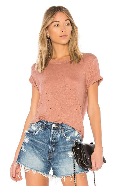 IRO Clay Tee in pink - IRO presents a fresh take on a casual essential with the...