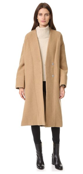 IRO raina coat in camel - A thick, soft IRO coat with a classic, vintage...