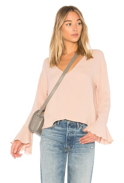 IRO Trusik Top in blush - From work day to late night rendezvous, the IRO Trusik...