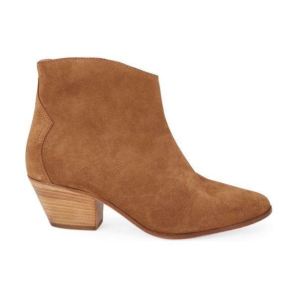 Isabel Marant dacken suede ankle boots in cognac