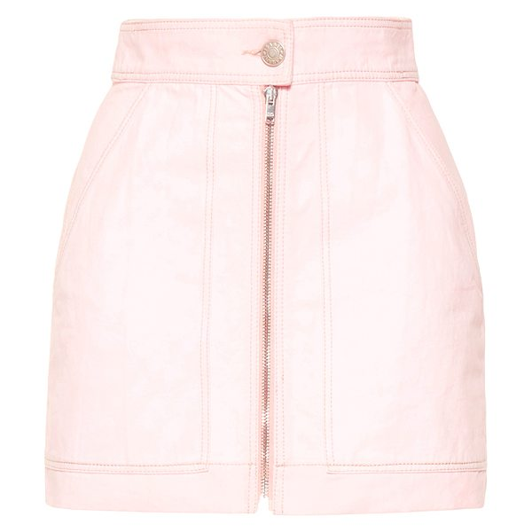 Isabel Marant Demie A-Line Skirt in pink - This *Isabel Marant* Demie A-Line Skirt features a High...