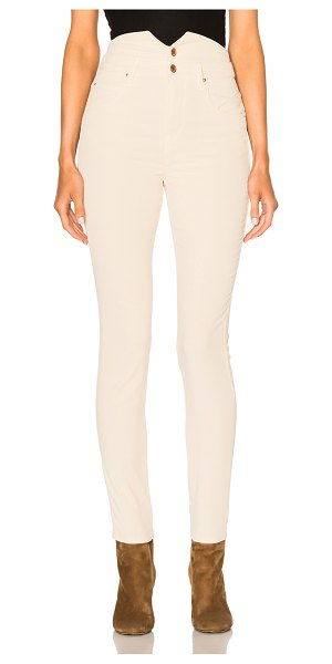 ETOILE ISABEL MARANT Farley High Waisted Jeans - Self: 98% cotton 2% elastan - Lining: 100% cotton.  Made...