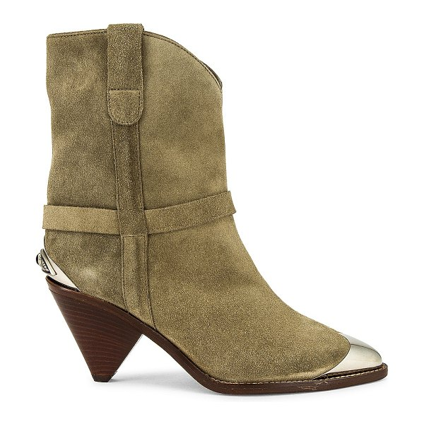 Isabel Marant limza bootie in taupe