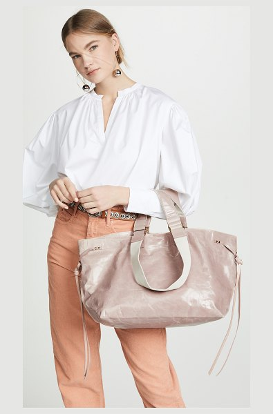 Isabel Marant wardy new bag in dusty pink