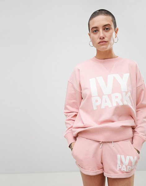 IVY PARK logo sweatshirt in pink - Sweatshirt by Ivy Park, You can never have too many,...