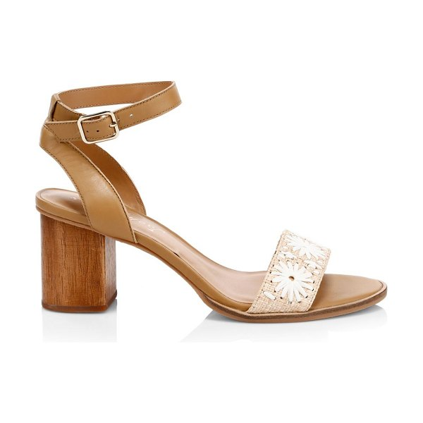 Jack Rogers bettina high sandals in tan