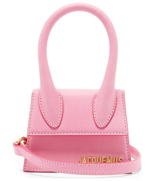 JACQUEMUS chiquito leather cross-body bag in pink