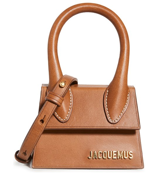 JACQUEMUS le chiquito bag in brown