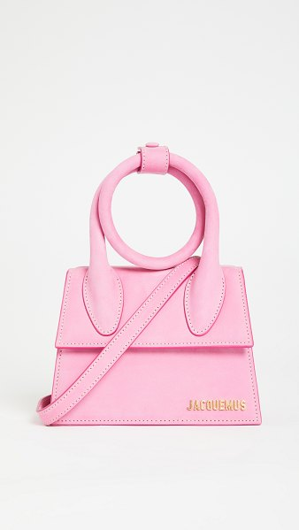 JACQUEMUS le chiquito noeud bag in pink