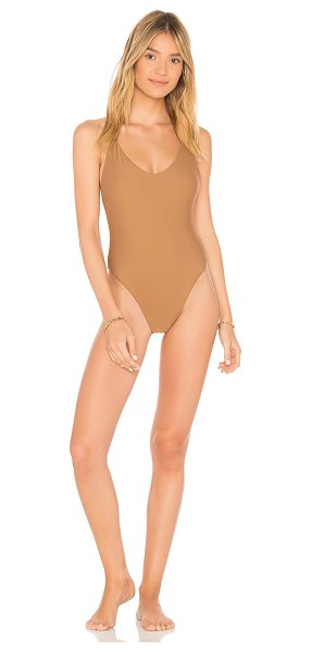 JADE SWIM Links One Piece - Nylon blend. Hand wash cold. Stretch fit. JADR-WX7. JSR18 LINKS.