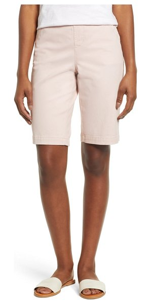 Jag Jeans gracie bermuda shorts in pink