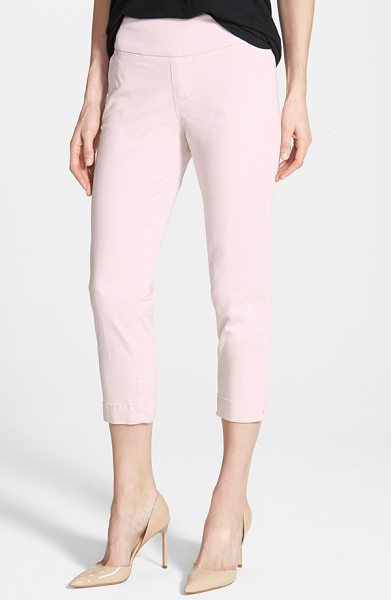 JAG JEANS hope slim crop pants - Available in a wardrobe of soft spring shades, casual...