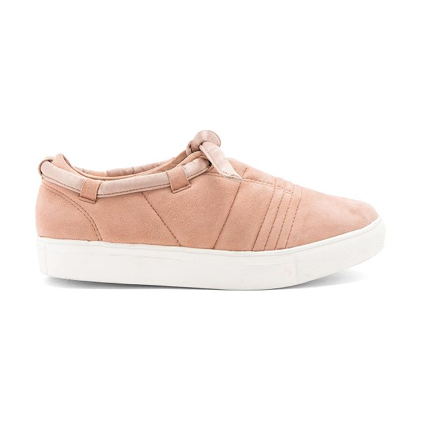 JAGGAR Apparition Sneaker in tan - Suede upper with rubber sole. Slip-on styling. Textile...