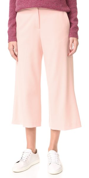 JAMES JEANS ankle length culottes in petal pink - Ankle-length James Jeans culottes with creased styling....