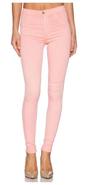 """James Jeans High class skinny ultra flex hd color skinny in pink lemonade - Cotton blend. 11"""""""" in the knee narrows to 9"""""""" at the leg..."""