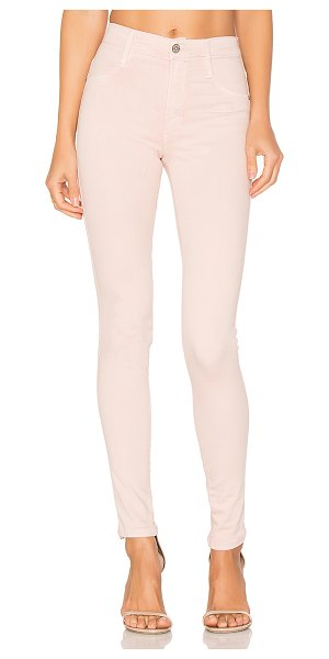 "James Jeans High Class Skinny in blush - ""94% cotton 4% poly 2% spandex. Faux front pockets. 10""""..."