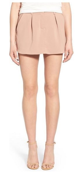 JAMES JEANS pleated skort - Flattering front pleats add structure to the fluid...