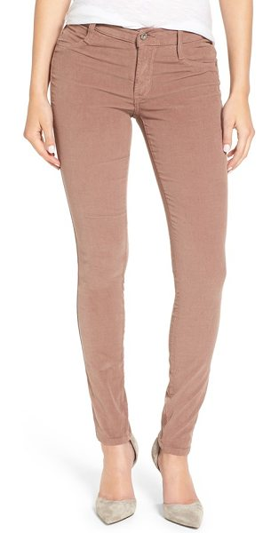 James Jeans twiggy corduroy skinny pants in french roast corduroy - Color-saturated corduroy skinny pants hug every curve...
