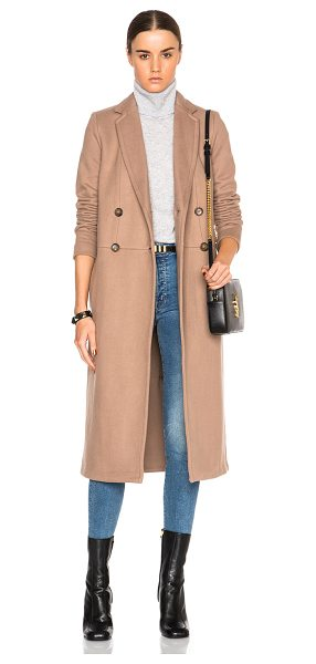 James Perse Fleece Overcoat in neutrals - 100% cotton.  Made in China.  Button front closures. ...