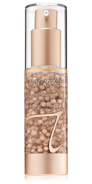 Jane Iredale liquid minerals foundation in 03 light beige - What it is: A light-reflecting foundation in a special...