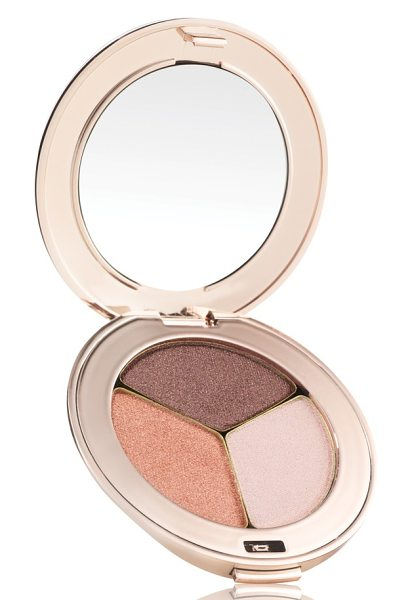 Jane Iredale purepressed triple eyeshadow in pink quartz - What it is: Jane has put together three made-to-match...