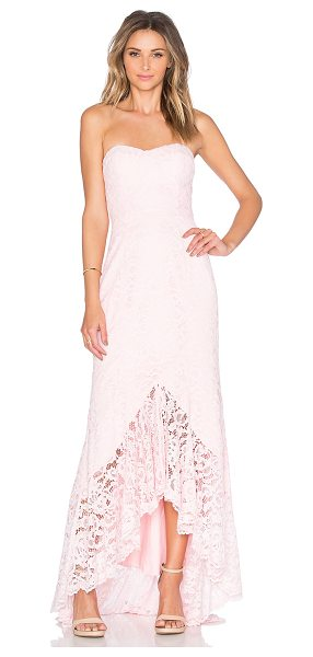 "Jarlo Adecyn Dress in pink - ""Poly blend. Dry clean only. Fully lined. Plastic bodice..."