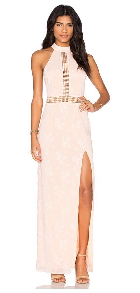 Jarlo Izara Dress in peach