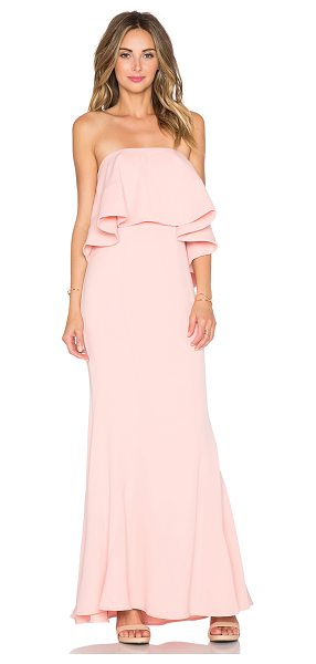 Jarlo Lily maxi dress in pink - 100% poly. Dry clean only. Bustline to hem measures...