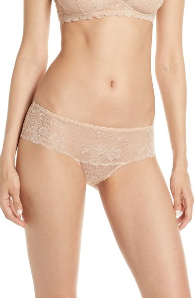Jason Wu Collection lace hipster panties in beige